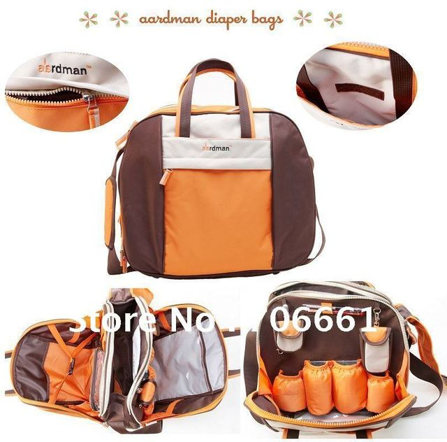 fashion Aardman diaper mammy bag, two color