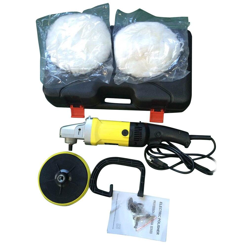 1400 watt 110 v Auto Farbe Wachsen Polieren Maschine Elektrische 6 Variable Geschwindigkeit Auto Polierer Puffer Waxer UNS Stecker Reinigung maschine