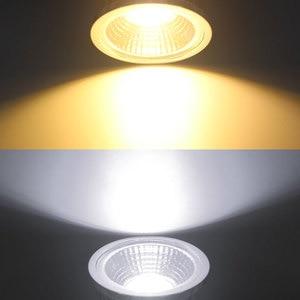 Image 5 - Super Bright GU10 Bulbs Light Dimmable Led Warm/White 85 265V 7W 10W 15W LED GU10 COB LED lamp light GU 10 led Spotlight