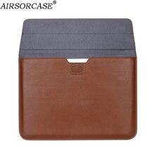Сумка-конверт из искусственной кожи для ноутбука Macbook Air Pro Retina 11 12 13 15 13,3 15,4 дюйма