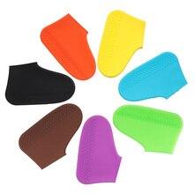 1 paar Silicone Overschoenen Waterdichte Regendicht Herbruikbare Schoenen Covers Regen Laarzen antislip Unisex Protectors voor Regent Outdoor