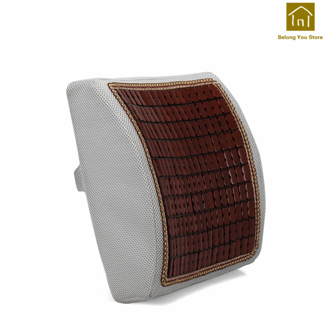 Support Car Seat Back Cushion Chair Pad Pillows Drivers Cushions Orthopedic Decorative Kussen Pillow Sofa