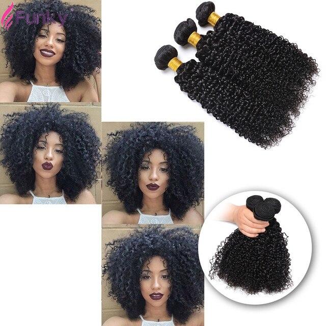 Mongolian Kinky Curly Hair 3 Bundles Kinky Curly Virgin Hair 8