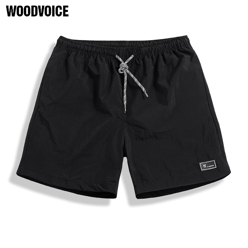 Casual Shorts Men Breathable Shorts Male Elastic Waist Beach Shorts Mens Knee Length Quick Drying Jogger Board Shorts Male Homme