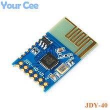 JDY-40 2,4G беспроводной трансивер с последовательным портом и модуль удаленной связи IO ttl Diy Электронный для Arduino