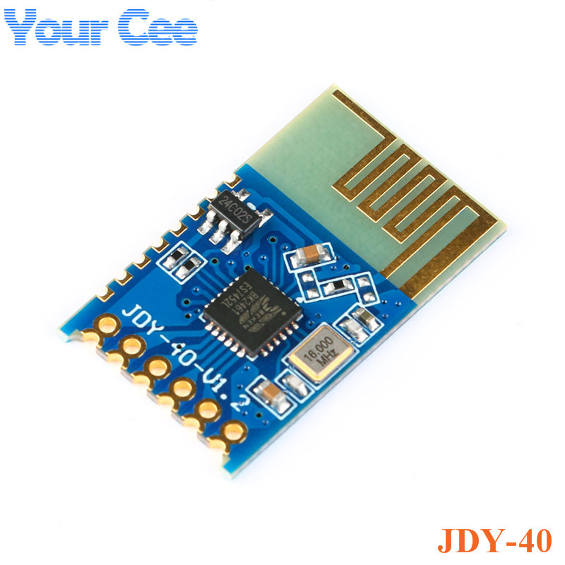 JDY-40 2.4G Wireless Serial Port Transmission Transceiver and Remote Communication Module IO TTL Diy Electronic For Arduino