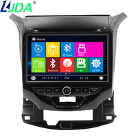 2din 8 Car Radio DVD Player GPS Navigation For Chevrolet Cruze 2015 Car Video Multimedia Player