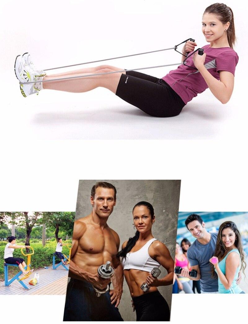 120cm Fitness Elastic Resistance Bands Yoga Pull Rope Exercise Tubes Elastic Workout Bands for Yoga Pilates Expander Elastic-1