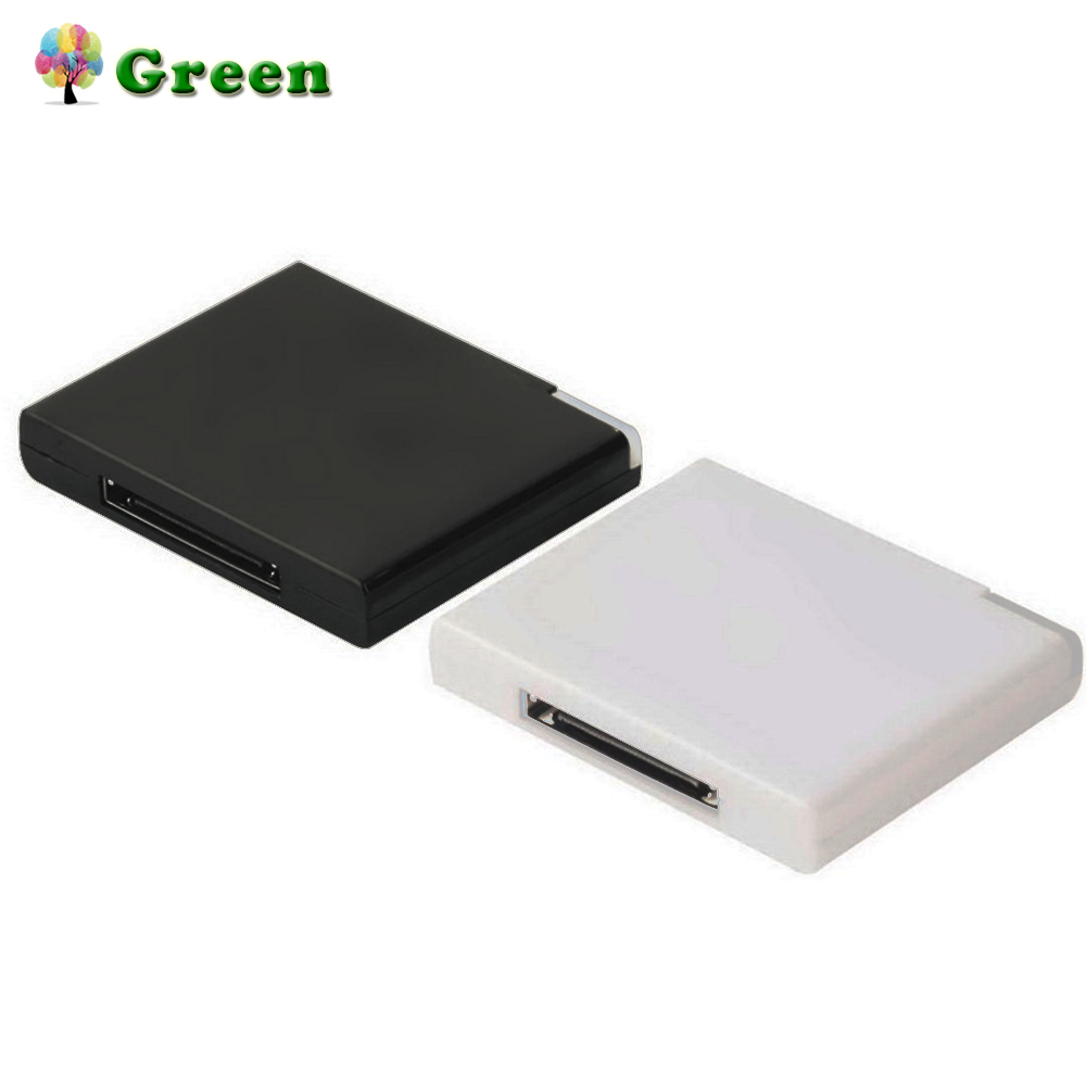 Bluetooth v2.0 A2DP Music Receiver Adapter for iPod For iPhone <font><b>30</b></font> <font><b>Pin</b></font> <font><b>Dock</b></font> Docking Station Speaker with 1 LED image
