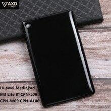 Screen Protector Soft Silicon Back Case For Huawei MediaPad M3 Lite M3Lite 8inch CPN-L09 CPN-W09 CPN-AL00 Smart TPU Cover Shell цена 2017