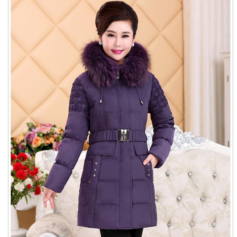 2017 new middle-aged women in the down jacket thick large yards Slim down jacket winter jacket four seasons outdoor sleeping bag adult thermal autumn winter envelope hooded travel camping water resistant thick sleeping bag
