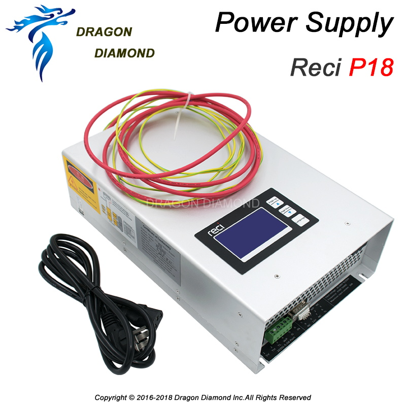 все цены на Original Laser Power Source P18 150w 180w 110V 220V for Reci W8 CO2 laser tube CO2 Laser Power Supply for Laser Engraver Cutter