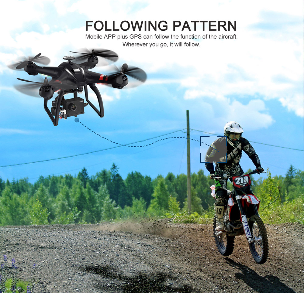 BAYANGTOYS X22 RC Quadcopter Drones Dual GPS WiFi FPV Brushless Follow Me Helicopters Racing Remote Control RC Drone Dron Toys 5
