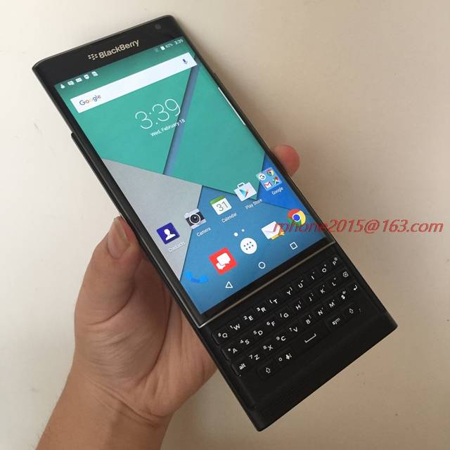 US $201 88 16% OFF|Unlocked Original BlackBerry Priv 5 4' Cellphone Android  OS 3GB RAM 32GB ROM 18MP Refurbished Cellphone-in Cellphones from
