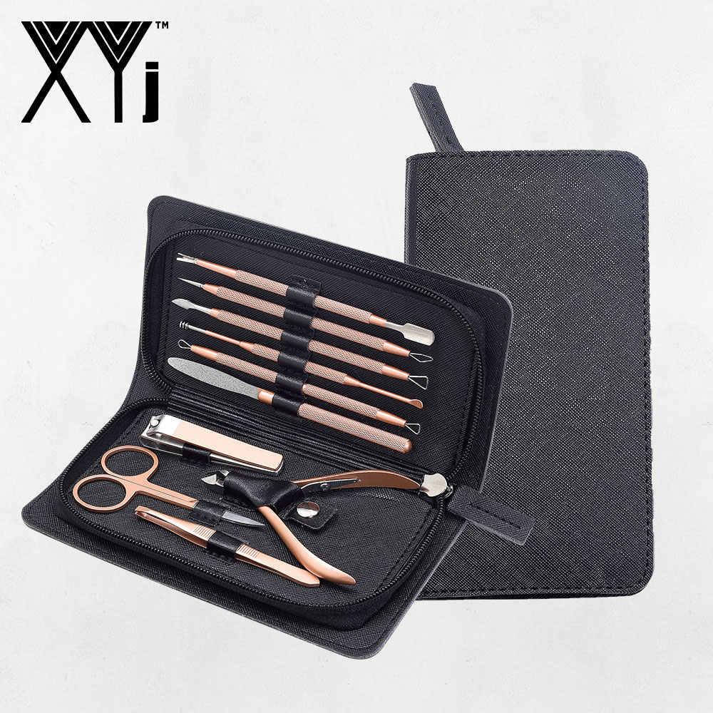 XYj Nagelknipper Kit en Comedondrukker Set Manicure Set Nail Care Tools en Comedo Extractor Beauty Tools Set Grooming kit