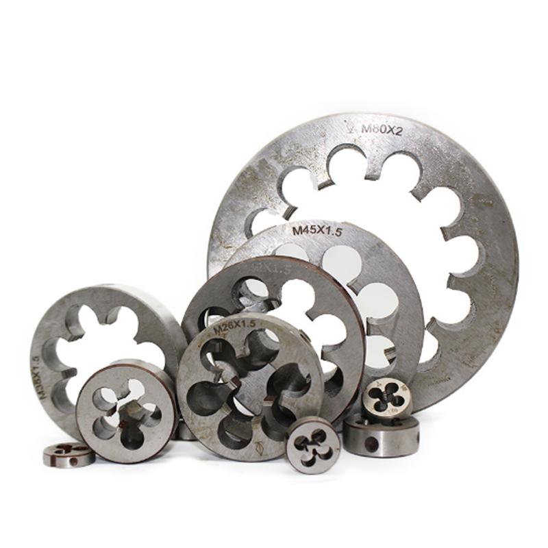 10PC Thread Die M2 M3 M4 M5 M6 M7 M8 M9 M10 Min HSS Metric Threading Screw Machine Die Right Hand Tool For Small Workpiece