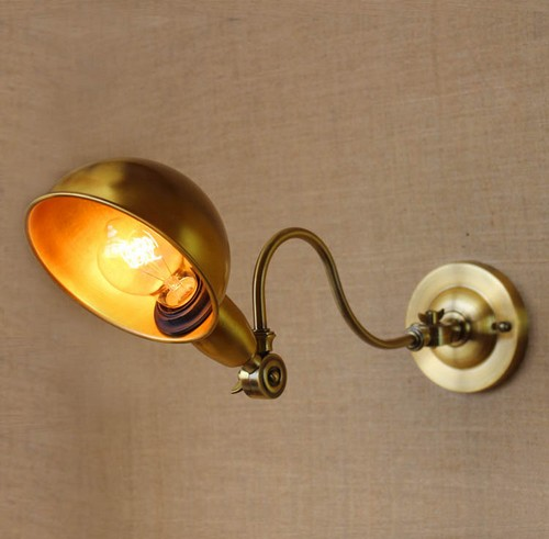 Edison Wall Sconce Retro Loft Style Industrial Vintage Wall Lamp Left Or Right Rotation Wall Light Fixtures For Indoor Lighting america rope vintage wall lights fixtures in style loft industrial wall lamp edison wall sconce wandlamp lamparas aplik