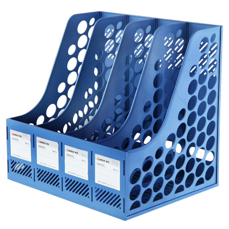 Comix Sturdy Durable File Tray / File Basket / File Bar Blue Black White Office School Supplies Stationery (B2174) трусы x file