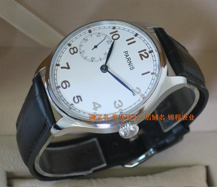 44MM PARNIS Asian ST3600 Mechanical Hand Wind men s watch High quality WATCH wholesale x0007