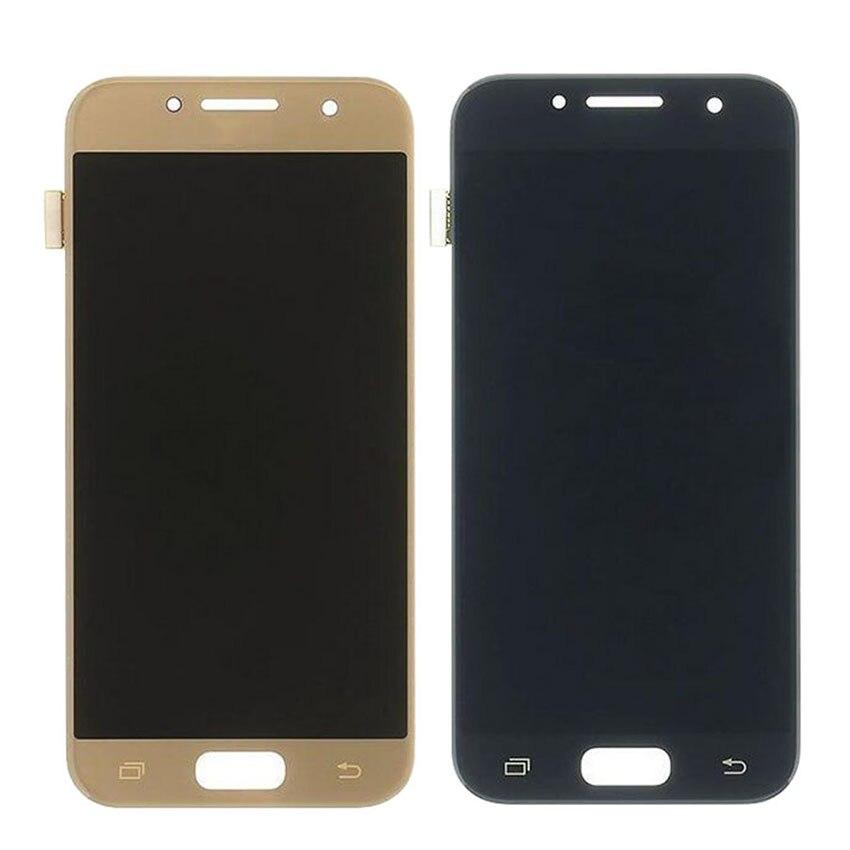 100% testé travaillant pour SAMSUNG A3 2017 A320 LCD écran tactile numériseur pour Samsung A320 LCD remplacement