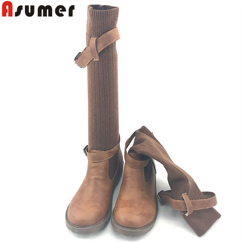 097064691f868 ASUMER-2019-fashion-over-the-knee-boots-women-med-heels-shoes-comfortable- buckle-autumn-winter-boots.jpg