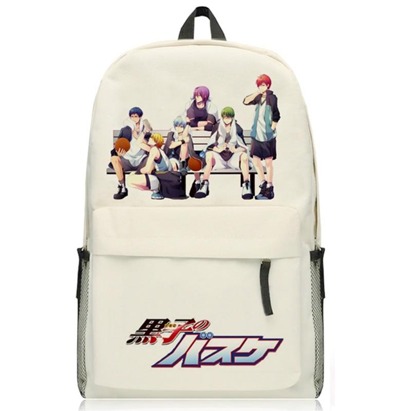 New Fashion Kurokos Basketball Backpack Japanese Anime Oxfoud Kuroko no Basuke Kuroko Tetsuya Laptop School Bag