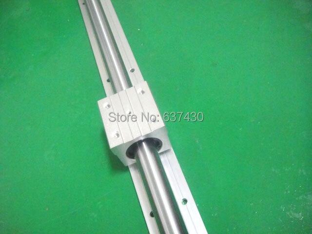 1шт SBR35 L1000mm+2шт SBR35UU линейный блок подшипников
