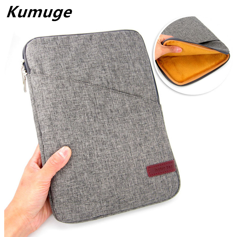 For New iPad 9.7 2017 Release Shockproof Tablet Sleeve Case for iPad Air 1/2 Pro 9.7 Cotton Tablet Cover Pouch Bag+Stylus Pen new brand bubm case for ipad air pro 9 7 storage bag for ipad mini tablet 7 9 pouch for 7 9 tablet free drop ship