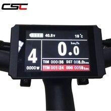 Ebike 24V 48V KT Màn Hình USB Có Thể Lập Trình Tái Tạo Bộ Điều Khiển Nhiều Màu Sắc LCD8 LCD Bảng Điều Khiển Xe Đạp Điện Chống Nước