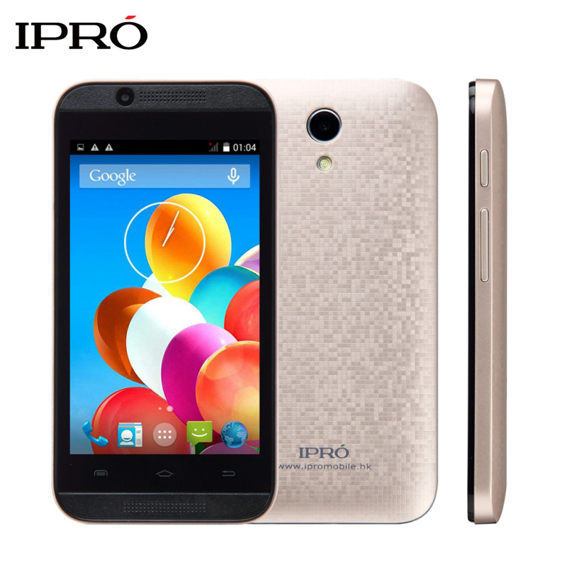 Original IPRO WAVE 4.0 512MB RAM 4GB ROM 4.0 Inch Celulares Unlocked Mobile Phone Android Google Smartphone Dual SIM Cellphones