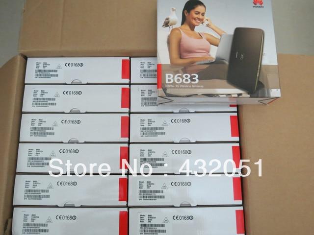 100% Original Unlock Huawei B683 3 G HSPA UMTS 28.8 mbit / s roteador sem fio