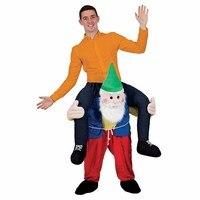 Newest Mascot Unisex Bavarian Oktoberfest Piggy Back Carry Me Ride On Costumes Animal Fancy Party Pants