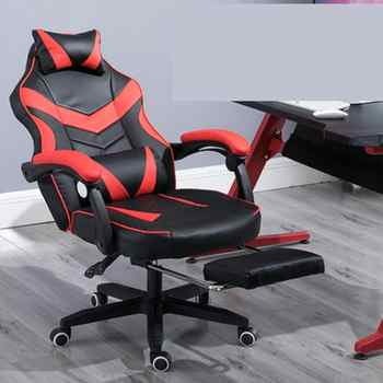 Gaming Chair Electrified Internet Cafe Pink Armchair High Back Computer Office Furniture Executive Desk Chairs Recliner - DISCOUNT ITEM  50% OFF All Category