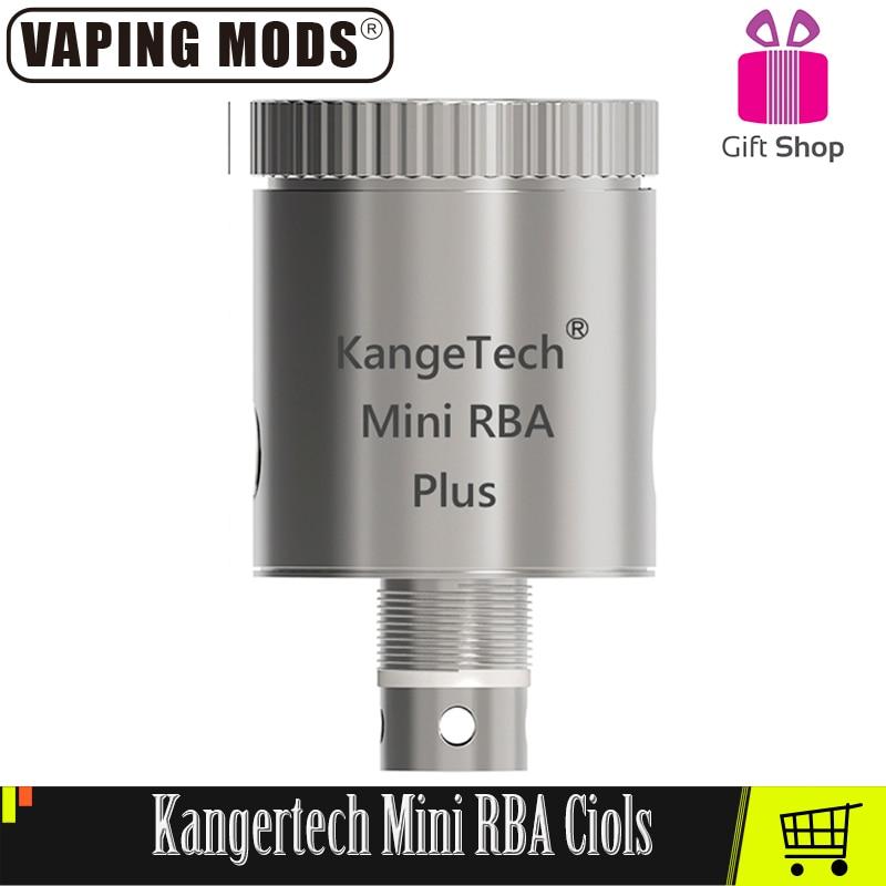 Original Kanger Toptank Subtank Mini RBA Plus Coils Kangertech RBA Coils For Kangertech Subtank Mini Atomizer Vape Tanks Coils