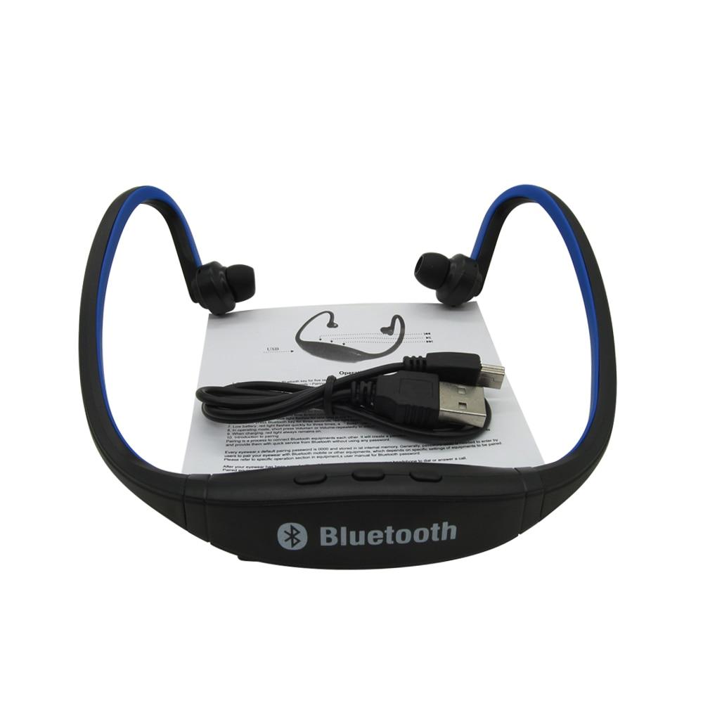 S9 Trådløse Bluetooth Hovedtelefoner 4.0 Sport Trådløs Håndfri - Bærbar lyd og video - Foto 4