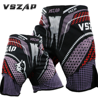 VSZAP MMA Shorts Cheap Mens MMA Clothing Breathable Cotton Shorts Fight Grappling Boxing Muay Thai Pants Thai Boxing