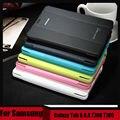3 в 1 высокое качество бизнес смарт кожа обложка книги чехол для Samsung Galaxy Tab S 8.4 T700 T705 + стилус + фильм