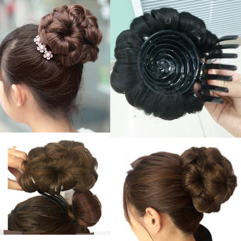 Image result for Heat chignon model