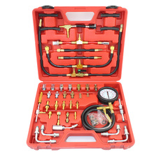 TU-443 Deluxe Manometer Fuel Pressure Gauge Engine Testing Kit Fuel Injection Pump Tester Full System