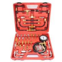 TU 443 Deluxe Manometer Fuel Pressure Gauge Engine Testing Kit Fuel Injection Pump Tester Full System
