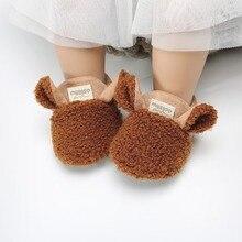 Newborn Baby Boy Girl Cartoon Shoes First Walker Infant Soft