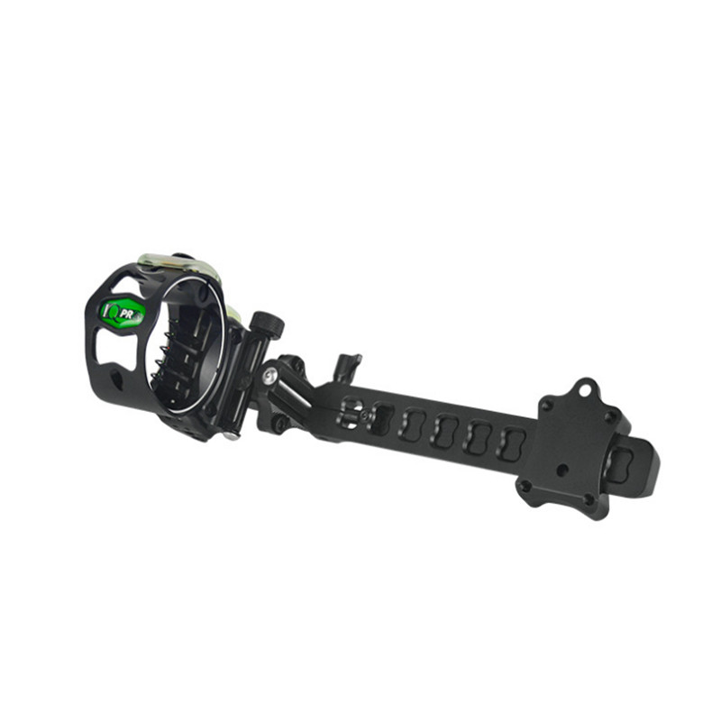 5Pins IQ Compound Bow Sight Laser Illuminated By Optical Fiber Micro Bowsight with Sight Light Hunting-in Darts from Sports & Entertainment    1