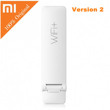 English Xiaomi WIFI Repeater 2 Amplifier Extender 300Mbps Amplificador Wireless Wi Fi Router Expander Roteador for