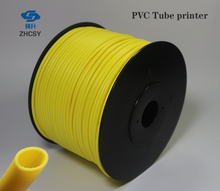 Free shipping blue color PVC tube sleeve for printer, wire marking machine ,cable ID electronic lettering
