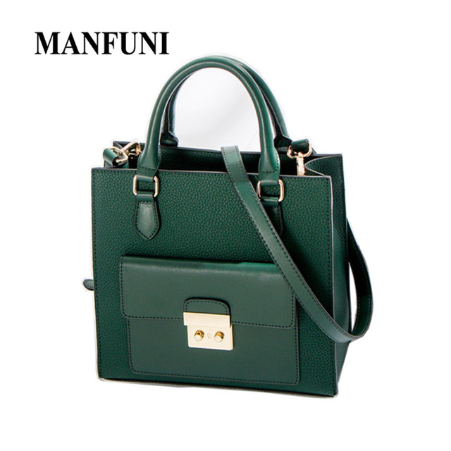 Tote bags For Women Leather PU Large Handbags Solid Dark green Fashion  Simple Handbags Bags Girls Shoulder Bags Lady Bolso Mujer ebda912541862