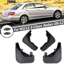 Spatlappen Voor Benz E Klasse W212 E300 E350 E550 E500 E280 E200 2008   2013 Splash Guards Spatborden voor Achter 2009 2010 2011 2012