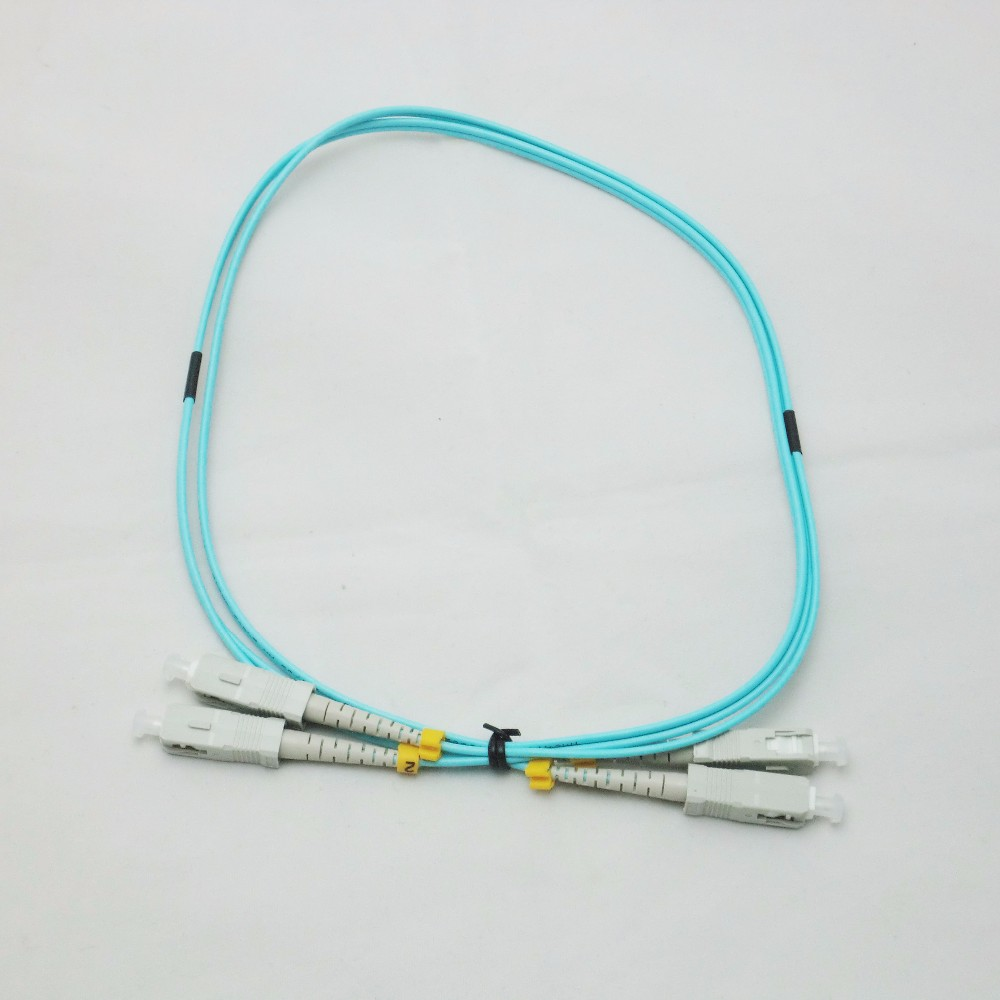 1 Piece 10 Meter SC UPC TO SC UPC 10Gbps OM3 MM 50125 Multi Mode Optical Fiber Patch Cord 2.0mm Duplex