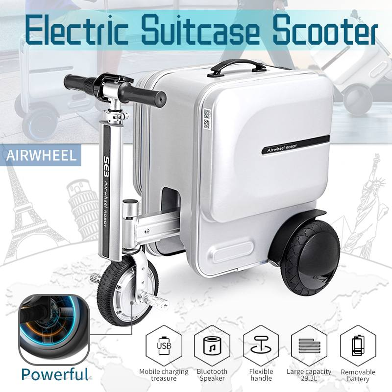 Smart Riding Luggage Case Electric Car,Can Be Riding Suitcase,Smart Travel Trolley Case,Multi-functional Valise  Boarding Box