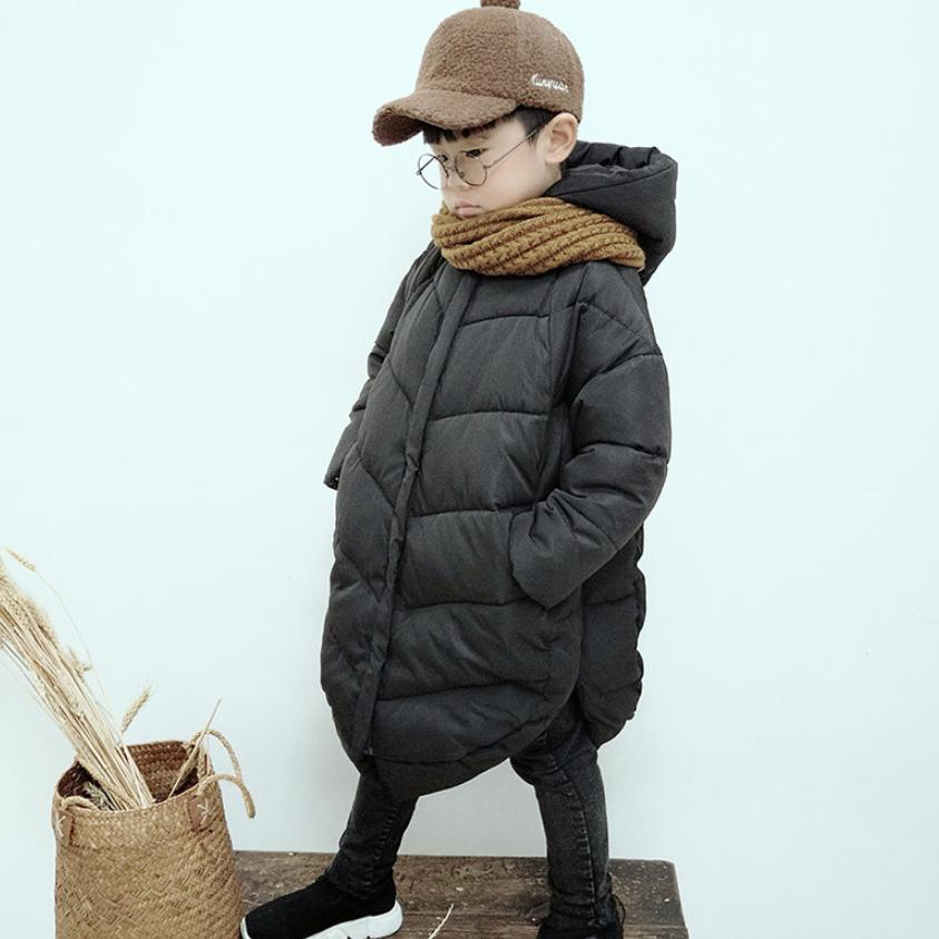 Winter Baby Down Cotton Jacket Baby Boy Clothes Childrens Warm Parkas Long Sleeve Hooded Overcoat Thicker Kids Outerwear Y154Winter Baby Down Cotton Jacket Baby Boy Clothes Childrens Warm Parkas Long Sleeve Hooded Overcoat Thicker Kids Outerwear Y154