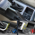 Для Toyota Prado 2010 2011 2012 2013 2014 2015 2016 2017 Автомобильная рамка для рычага переключения передач панель накладка ABS хромированные аксессуары